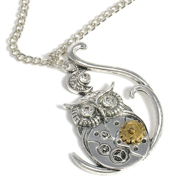 Steampunk Personality Clockwork Pendants