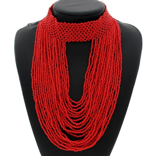 Bohemia Handmade Beaded Necklaces
