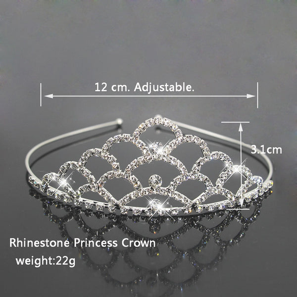 Bridal Princess Crown Hair Jewelry