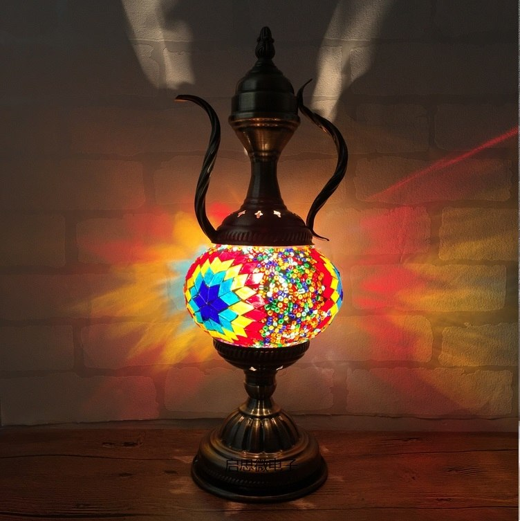 Morocco Inspired Bohemian Table Lamp
