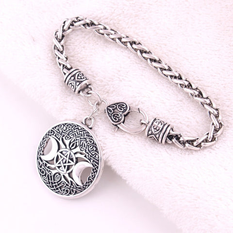 Triple Moon Tree of Life Bracelet