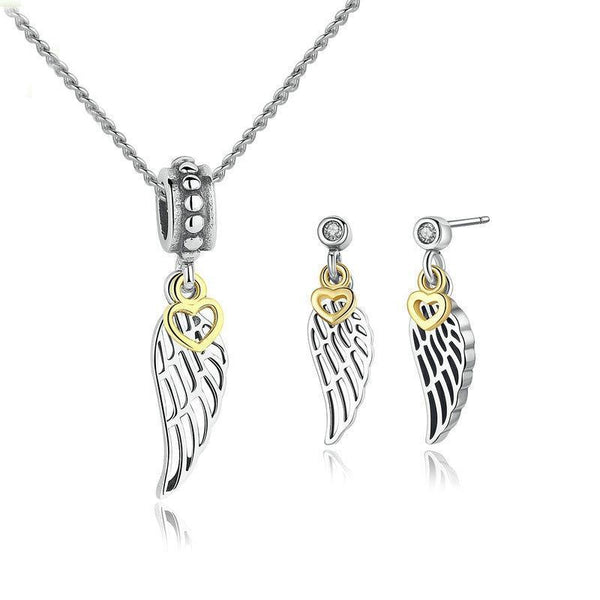 Angel Wing Jewelry Set