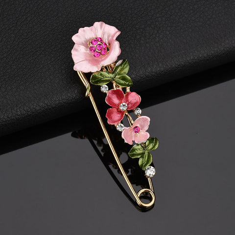 Floral Brooch Pins