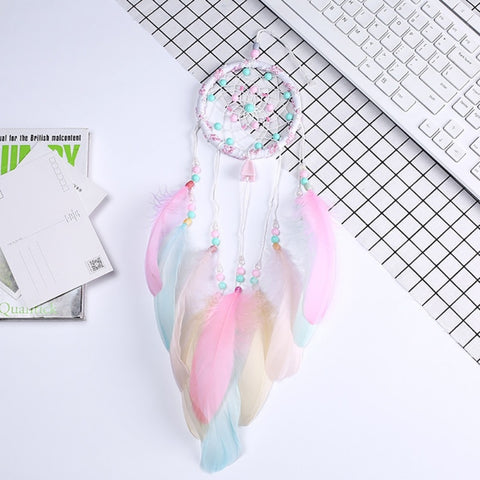Handmade Candy Rainbow Dream Catcher
