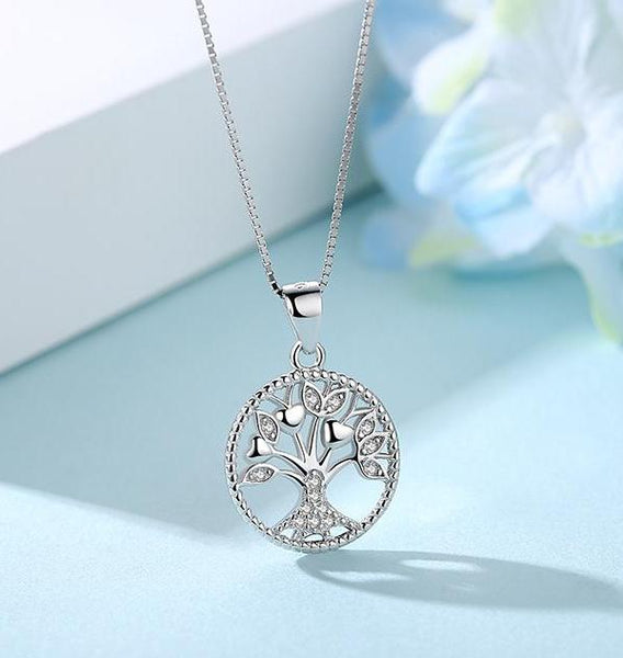 Sterling Silver Family Tree of Life Pendant