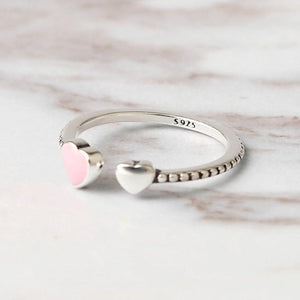 Love Heart Crystal Ring