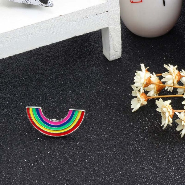 Rainbow Pride Brooches