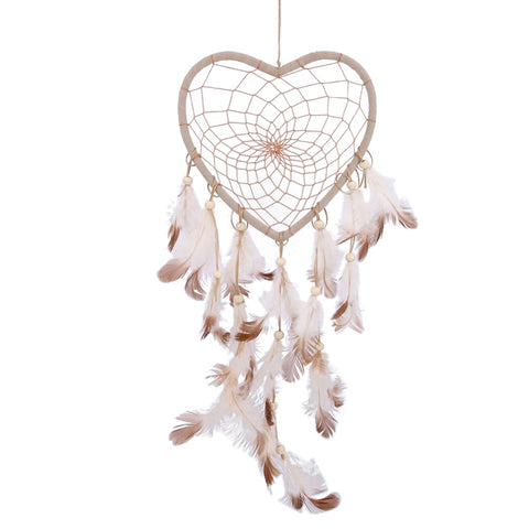 Heart Shape Handmade Dream Catcher