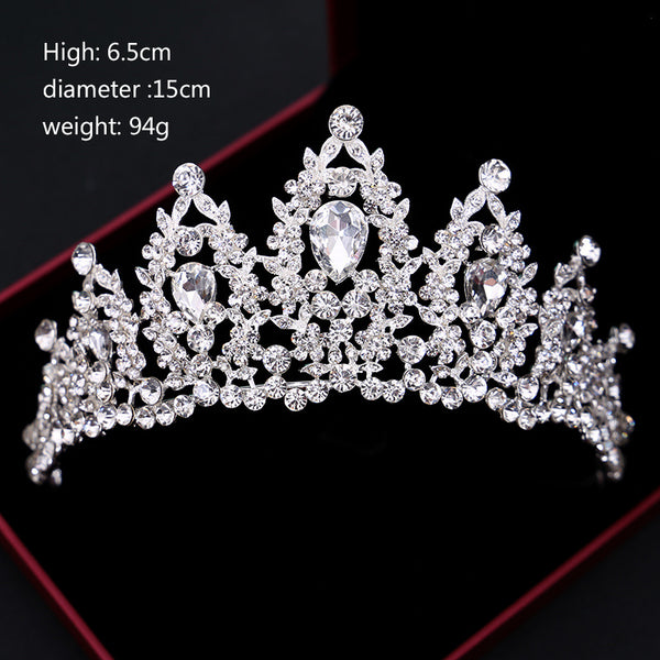 Silver & Gold Crystal Crowns