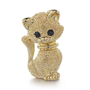 Sparkle Cat Brooch