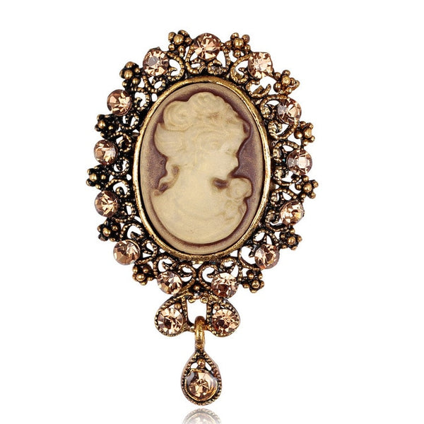 Vintage Lady Brooches