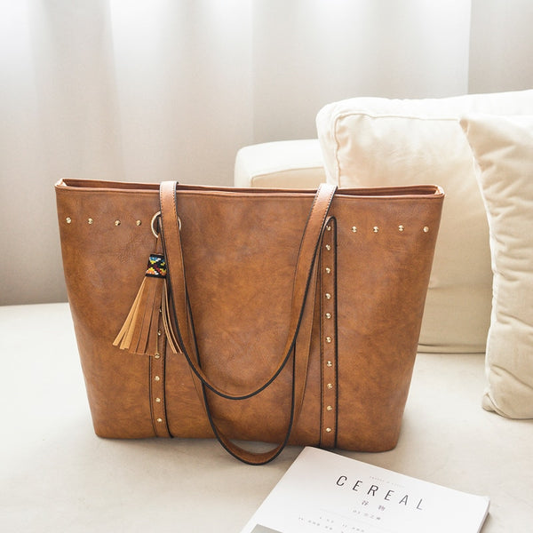 Casual Tassel Womens Shoulder Bag