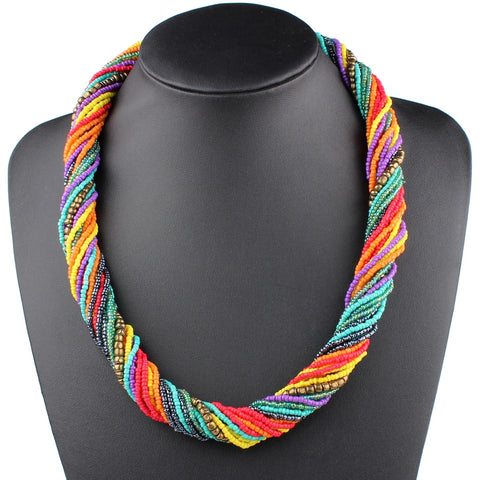 Summer Twist Bohemian Necklaces