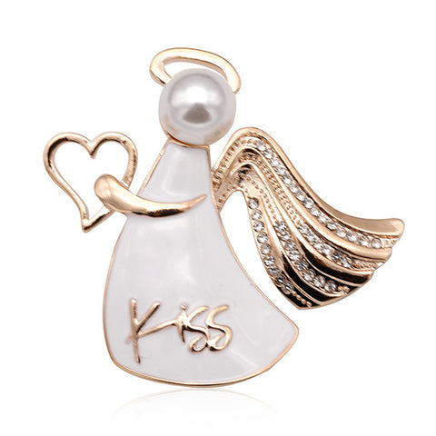 Angel Kisses Brooch
