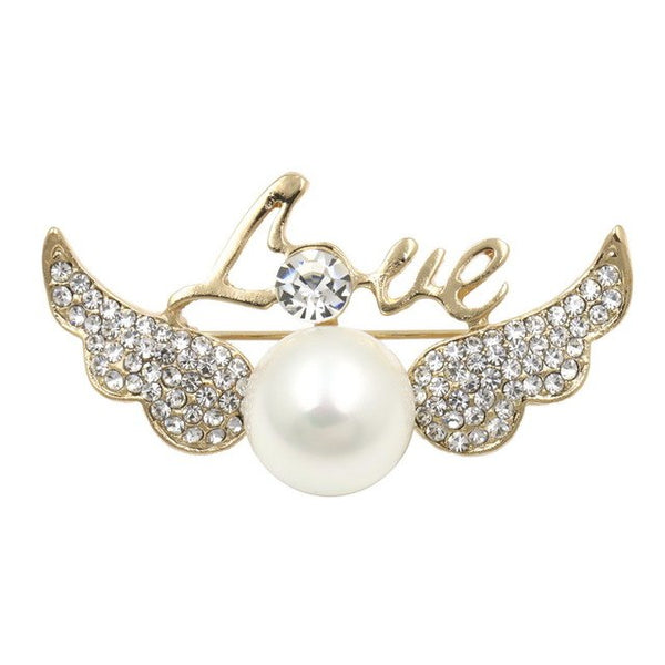 Angel Love Brooch