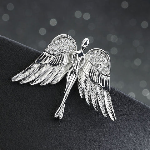 Delicate Angel Brooch