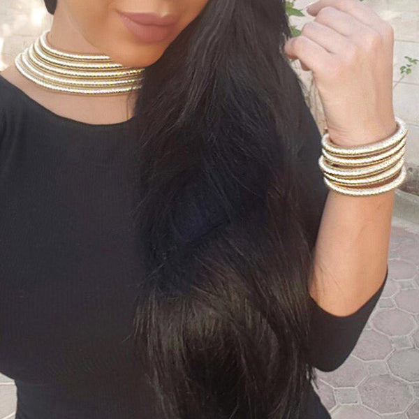 Boho Chic Collar Jewelry Sets