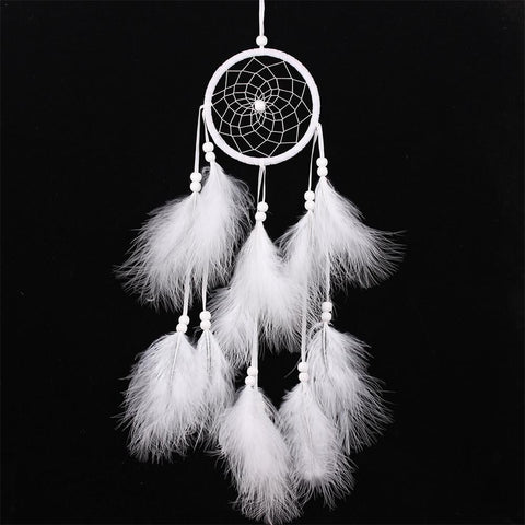 Handmade Feather Dream Catchers
