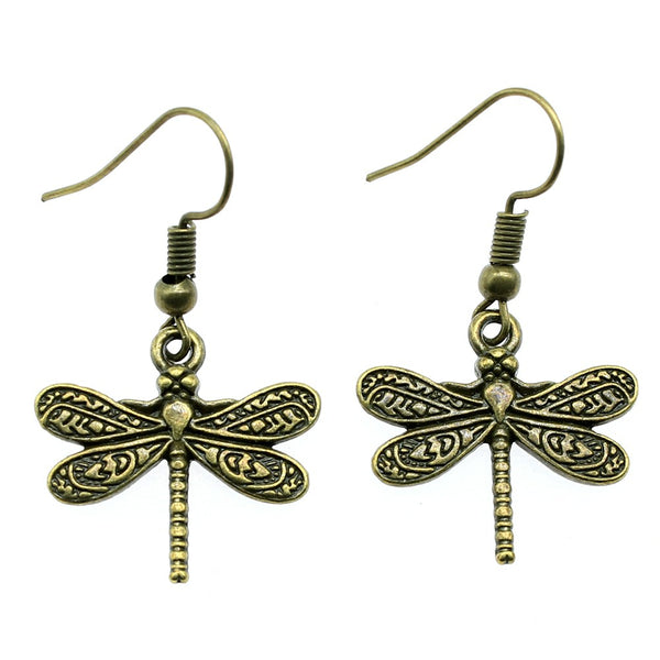 Fashion Styled Dragonfly Earrings