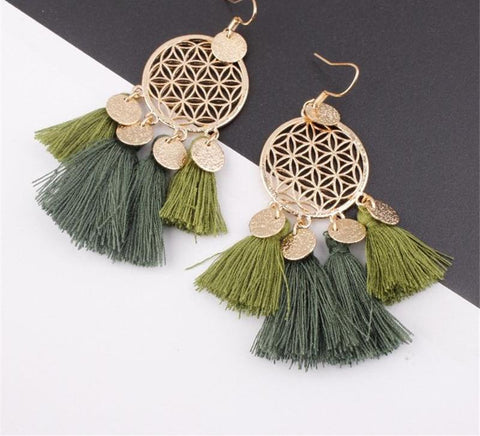 Bohemian Dreamer Ethnic Earrings