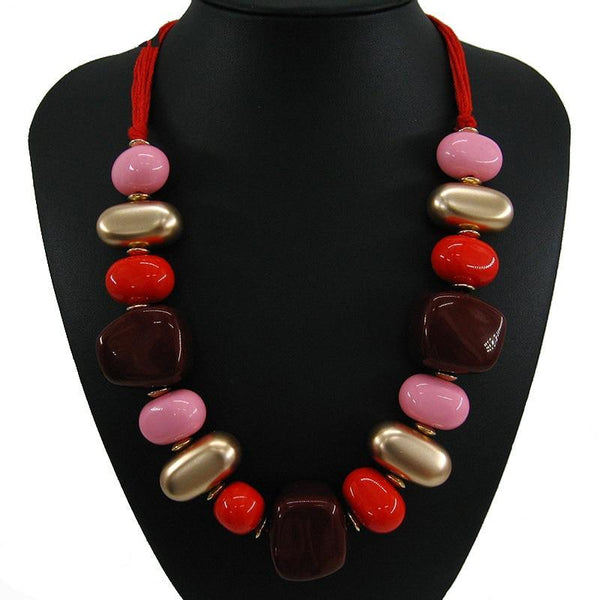 Chunky Bohemian Statement Necklaces