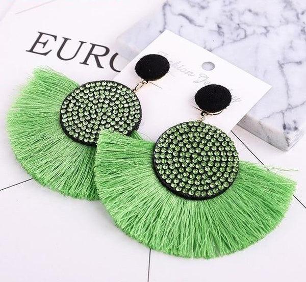 Luxury Bohemian Tassel Earrings