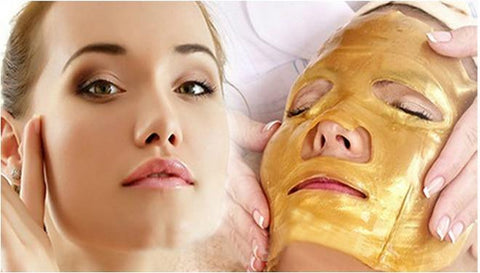 24K Gold Collagen Face Mask