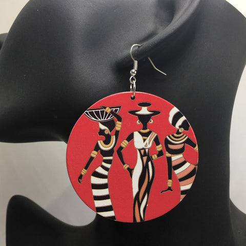 African Tribal Women Earrings
