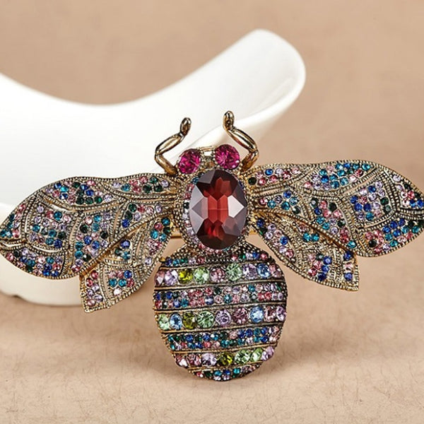 Antique Bee Brooches