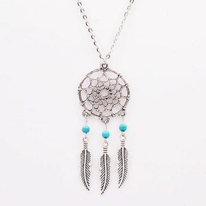 Boho Dream-catcher Necklaces
