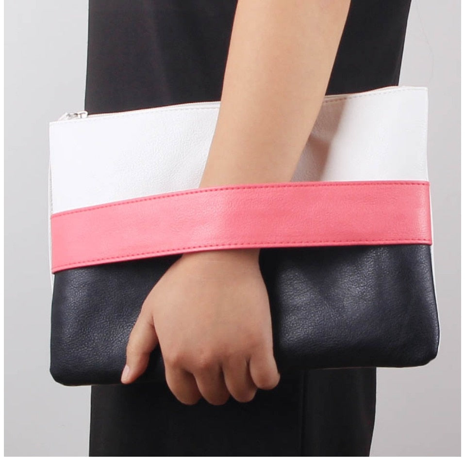 Candy Colour Clutch Bags