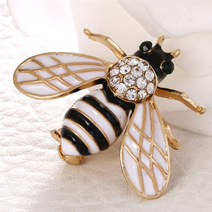 Bee Sparkle Brooches
