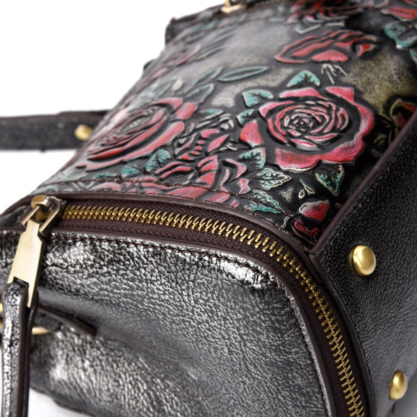 High Quality Bohemian Flower Styled Handbags
