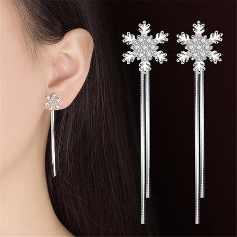 Luxury Snowflake Earrings