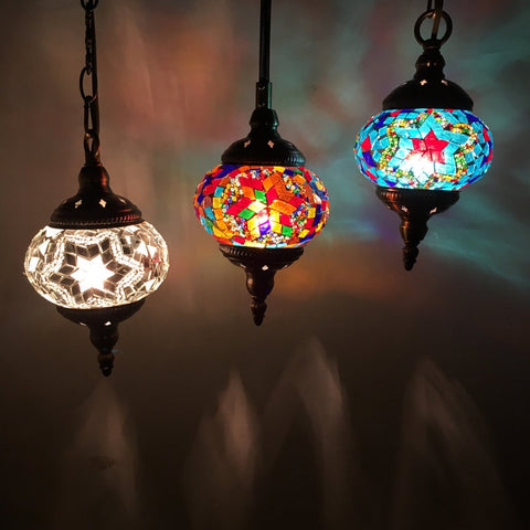 Bohemia Mosaic Turkish Inspired Hanging Lamp