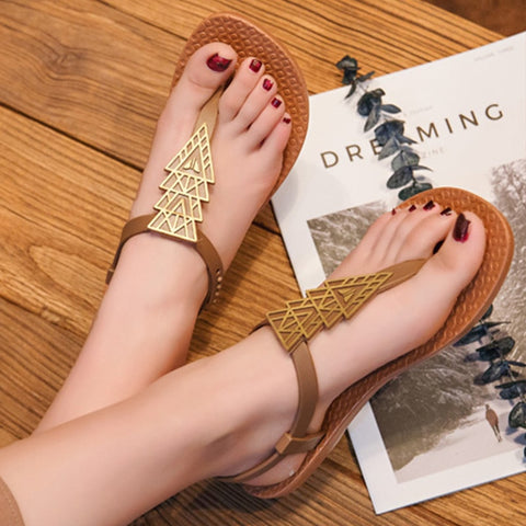 Aztec Styled Bohemian Sandals