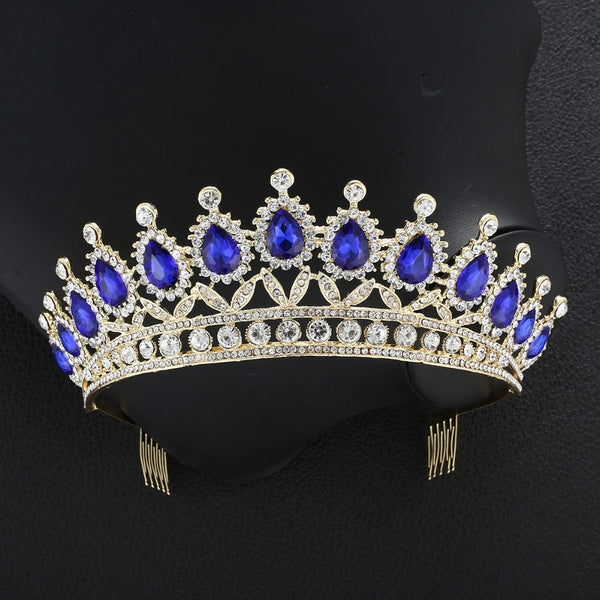 Crystal Beaded Bridal Tiaras