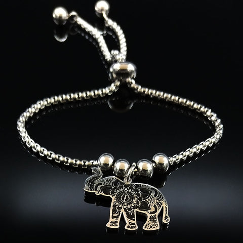 Flower of Life Elephant Bracelet