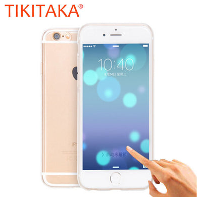 2 in 1 Ultra thin Soft TPU 360 Case For iphone 7 6 6s Plus SE 5 5s Fundas Clear Silicone Cover Full Body Protective Phone Cases