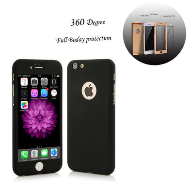 2016 New 3 in 1 Complete Full Coverage of 360 degrees Protection Back Cover Case For Iphone 5 5s Armor Cases + free screen glass