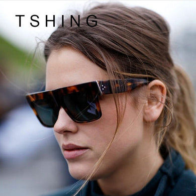 2016 New Rivet Flat Top Square Women Sunglasses Fashion Famous Brand Designer Superstar Sun Glasses Female Shades Oclulos UV400