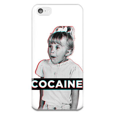 Cocaine iPhone 5-5s Plastic Case