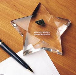 Allende Star Faceted Paperweight