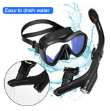LUXPARD Snorkel Set (Black)