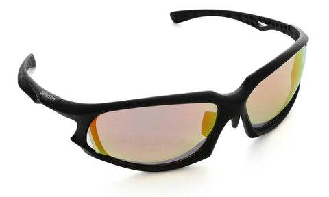 LUXPARD Men Women Sports Polarized Sunglasses REVO Red Lens LS002A