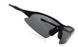 LUXPARD Men Women Sports Polarized Sunglasses Gray Lens LS001B