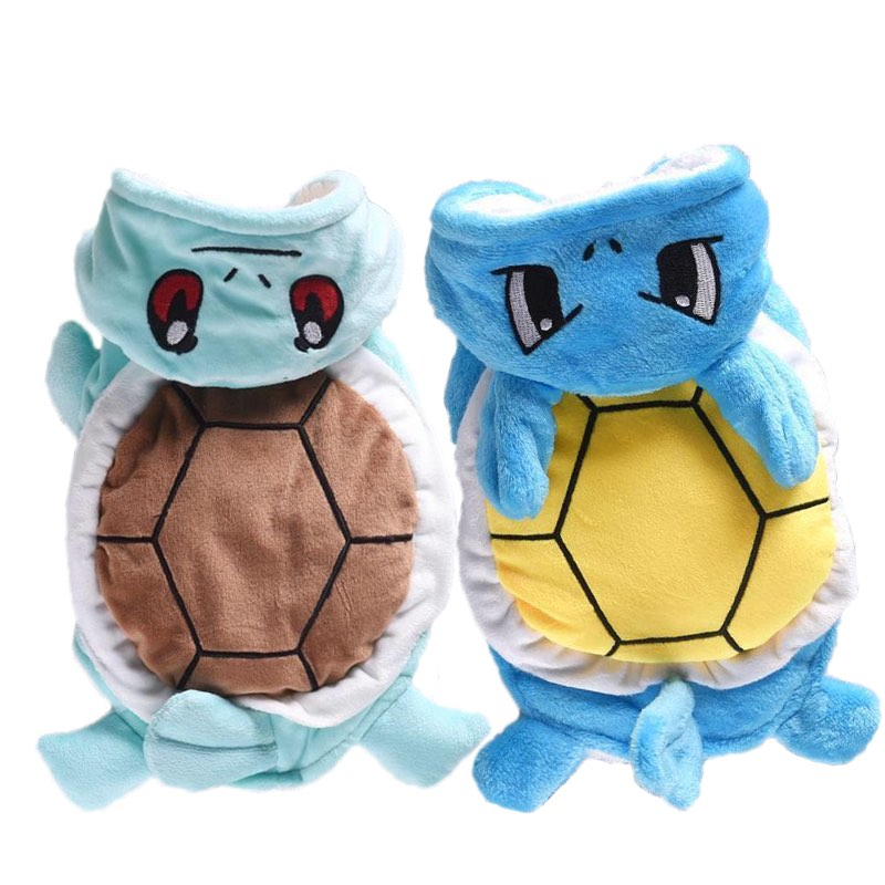 squirtle hoodie doggy suits big dog costume dog costume pokemon dog pet costume anime dog costume