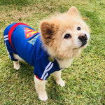superman dog hoodies superman dog costume super hero dog cloth superman dog sweater