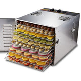 10 tray food dehydrator deluxe