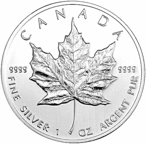 2011 Canadian Silver Maple Leaf .9999 pure Silver $5 Coin Brilliant Uncirculated - 3 Royal Dazzy